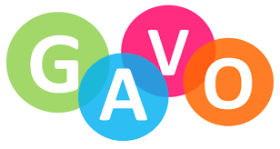 Logo for GAVO- Gwent Association of Voluntary Organisations