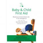Mini First Aid (16 April, 18 Jun, 6 Aug)